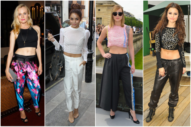 crop tops- celeb 3
