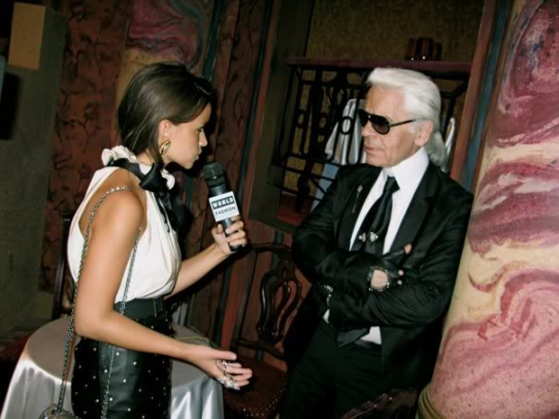 md interviewed lagerfeld