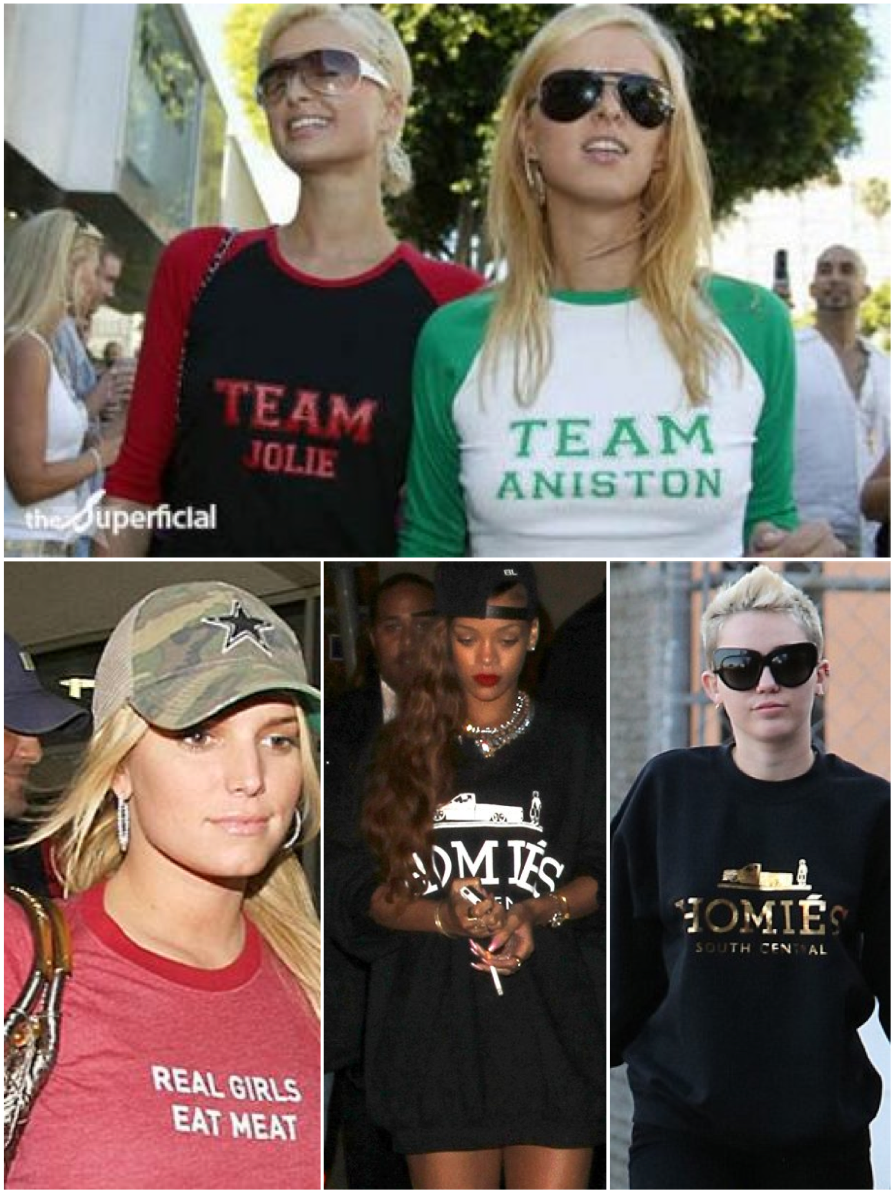 celeb graphic tees