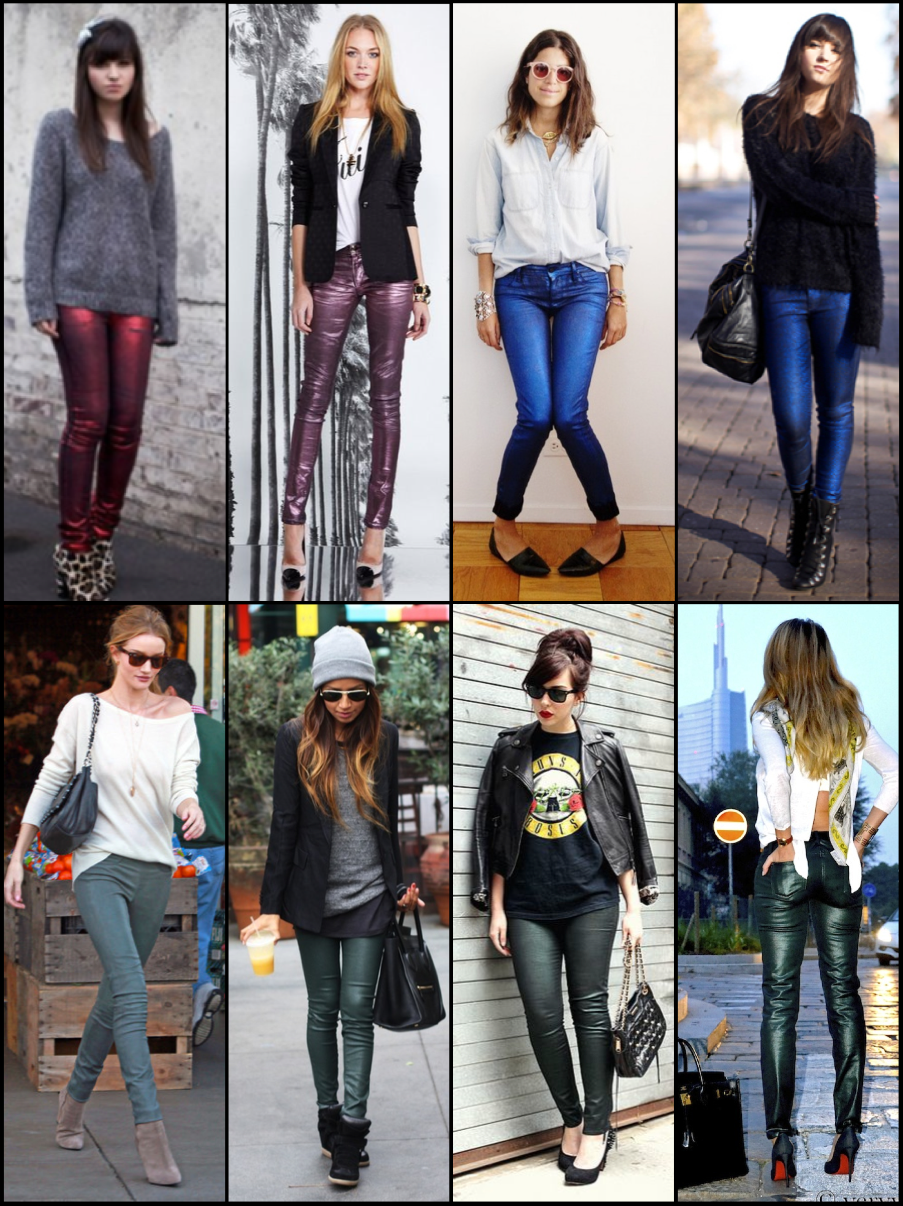 coated denim colors