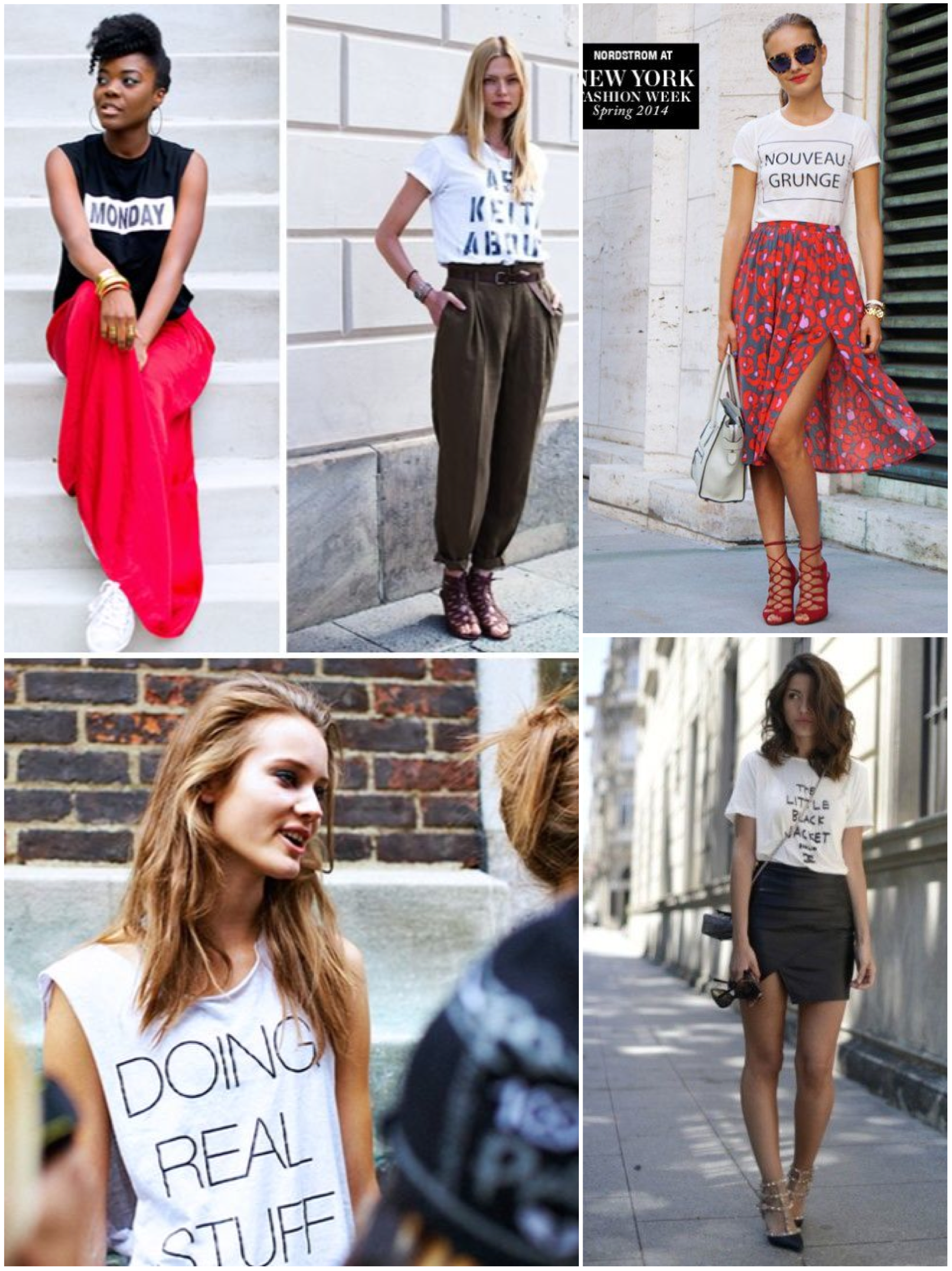 graphic tees street style