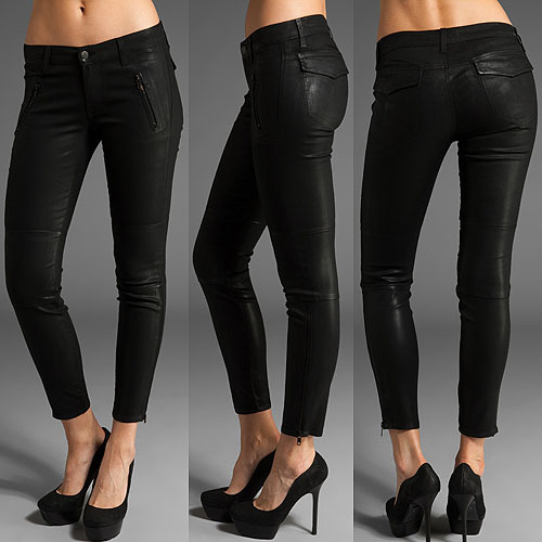 J-Brand-Agnes-coated-zip-skinny-jeans-in-stealth