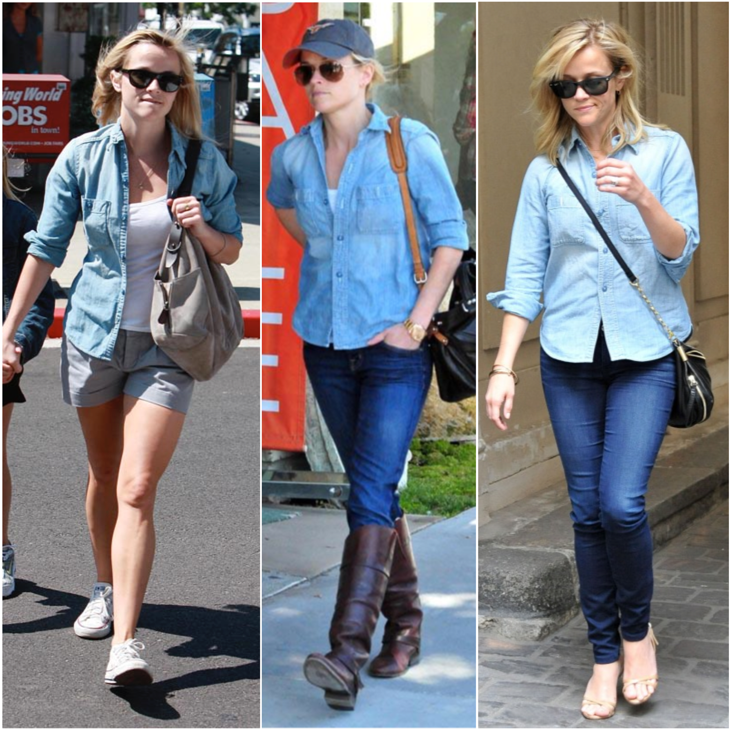 reese witherspoon chambray