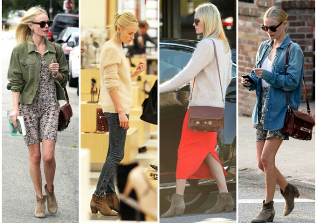Kate Bosworth Isabel Marant Dicker boots inspiration outfits+proenza schouler ps11 kate bosworth outfits inspiration