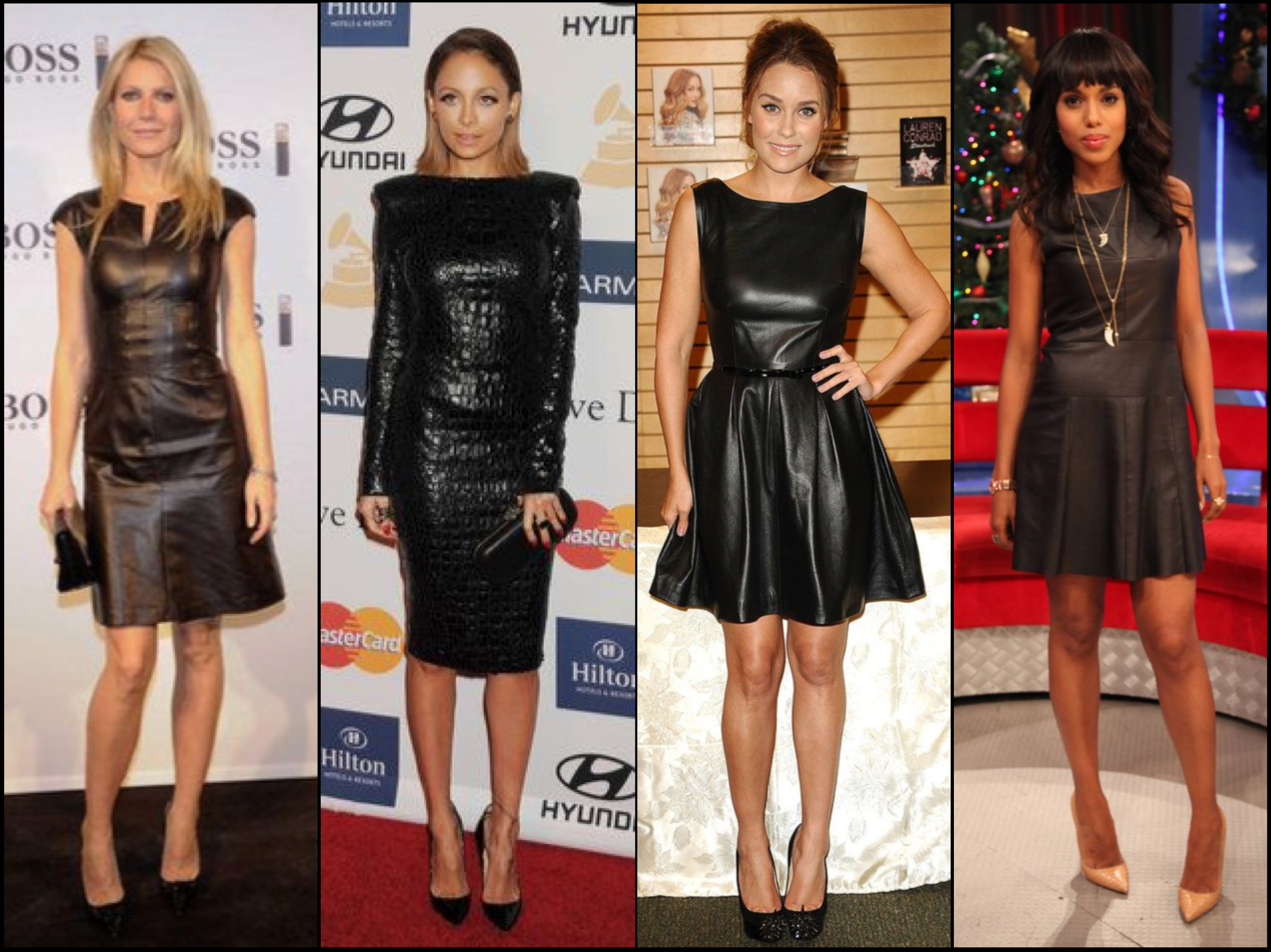 LBD leather